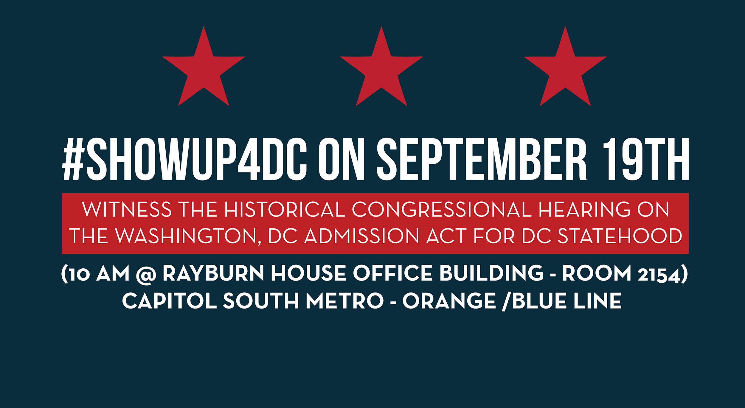 Show Up for DC on September 19